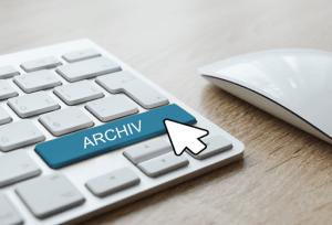 Digitale Sicherung von beleghaften Dokumenten