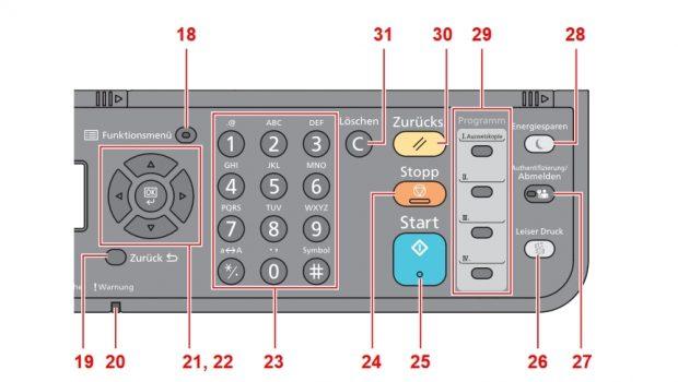 UTAX P-4020 MFP schnell und sparsam