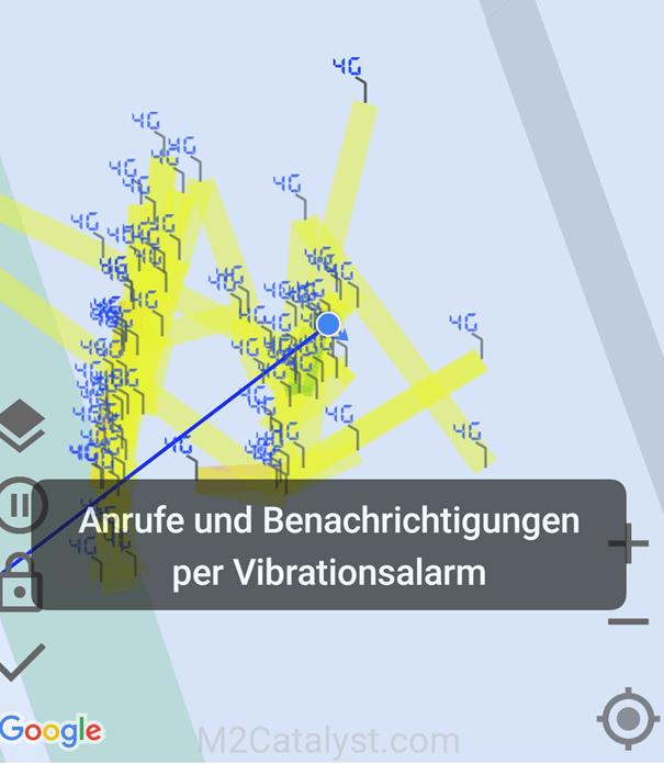 Screenshot der App Info Cell Network